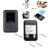 Wireless Modem Wifi Mobile Router 3G 4G LTE Hotspot Portatile SIM Slot 150Mbps