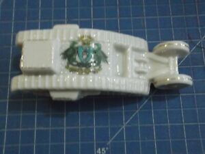 Arcadian Crested China Model of Tank - Dundee - Rg.No 658588 WW1 See photos