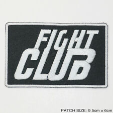 FIGHT CLUB - Cool Embroidered Movie Patch, NEW - Brad Pitt