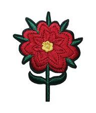 Aufnäher Bügelbild Aufbügler Blume 90x70 mm (1045)