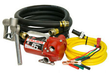 Fill Rite Rd812nh 12v Dc 8gpm Portable Fuel Transfer Pump With Manual Nozzle
