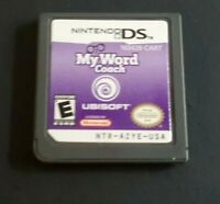 Nintendo DS Game Plays Dsl Dsi 3DS ~ MY WORD COACH ~ Build your Vocabulary Fun