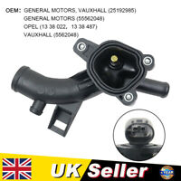 Thermostat Housing W/ Sensor Water Outlet For Vauxhall Adam Astra Corsa D Meriva