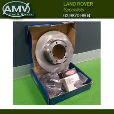 Land Rover Discovery Series 2 - Std Rotors & Brake Pads - REAR PAIR 99-04