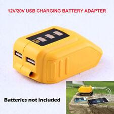 Adaptador de batería 12/20V USB Dewalt DCB090 Cargador De Fuente De Alimentación