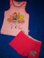 Two Part Top & Hot Pant Shorts Winx Club 104 Summer Combination