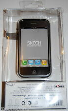 Skech Shine Titanium Protective Case + Cloth & Video Stand for iPhone 3G / 3GS