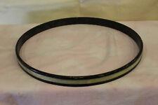 """Vintage 60's 14"""" wood hoop/rim with """"white marine pearl inlay""""  lot#1"""