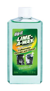 Dip-it Coffee Maker Cleaner & Descaler Liquid Stain Remover Lime Away