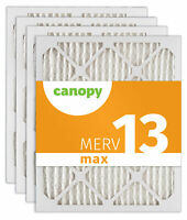 "Canopy Filter 16 3/8 x 21 1/2 x 1 MERV 13, 16 3/8"" x 21 1/2"" x 3/4"", Box of 4"