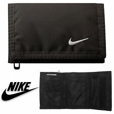 Nike Basic Wallet Sports Holiday Gym Card Holder Football Tennis Rugby Nk002 Black