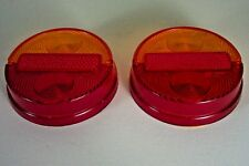 Fiat 1100 R 850 Sports Coupe Lancia Stratos Tail Light Lens Set NEW