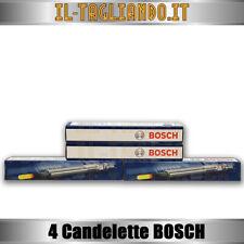 4 Candelette BMW Serie 1 120d, 320d e46, 320d e90, X3 90-110-120 kw della BOSCH