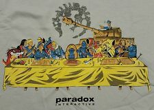 """Paradox Interactive"" Humble Bundle Exclusive Platypus Men's XXXL Shirt Theyetee"