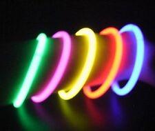 Brillan En La Oscuridad De 3 Pulseras asstd Palos con conectores para convertir en Pulsera