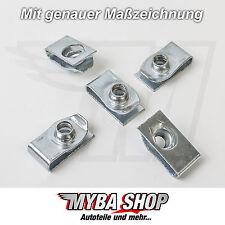 20x supporto in metallo parentesi madre di bloccaggio per Jeep Chrysler GM Ford 11503714 #neu #