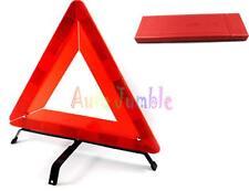 Emergencia en Coche Plegable Triángulo Avería Aviso Avería Viajes Eu +Funda