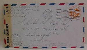 US in ATTU ISLAND ALASKA  APO 726 CENSORED 1944