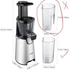 Aicok Slow Masticating juicer cold press 150W Quite Motor - Missing Parts!