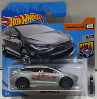 HOT WHEELS 2018 TESLA MODEL X HW METRO 5/10 FJW84