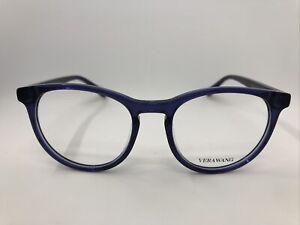NEW VERA WANG V514 AZ Azure 49.17.140 Women's Eyeglasses Frames