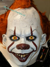 Trick Or Treat Studios Movie IT PENNYWISE DELUXE MASK EDITION Clown Halloween