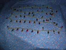 Cute Bead Bulb Garland About 64 Inches Bulbs Not Real Beads Not Free-Moving