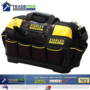 "Stanley Tool Bag Tote 18"" 460mm Genuine Fatmax® Hard Base XL Organiser 1-93-950"