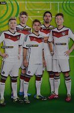 DEUTSCHE NATIONALMANNSCHAFT - A3 Poster (42 x 28 cm) - Marco Reus Clippings NEU