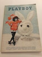 Vintage Playboy Magazine March 1966 Centerfold Intact Priscilla Wright