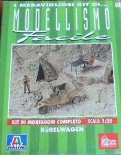 KÜBELWAGEN - Modellismo facile Italeri 1990 scala 1:35 (AUTO MILITARE)