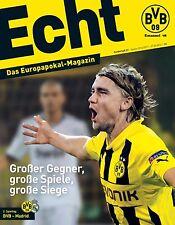 Programmheft # 27 - UEFA CL - BVB 09 Dortmund / Real Madrid - Gameday Magazine