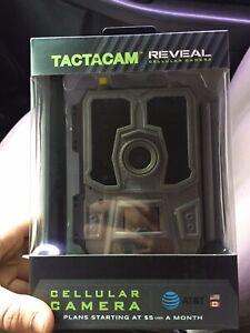 Tactacam Reveal Cellular Trail Camera AT&T No Reserve !!!
