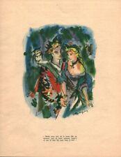 Publicité ancienne Merlin l'enchanteur no 2 1950 issue de magazine