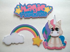 3D - U Pick - CM1 Princess Castle Knight Unicorn Scrapbook Card Embellishment