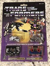 Transformers Vintage Ravage and Rumble G1 Zhong Jin KO Hasbro NIB