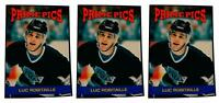 (3) 1992 Prime Pics #49 Luc Robitaille Hockey Card Lot Los Angeles Kings