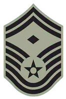 Lot of 20 Air Force Senior Master First Sergeant ABU Rank Chevron Patches - Male