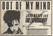 11/3/89Pgn19 Advert: 'out Of My Mind' From John Moore & The Expressway 7x11