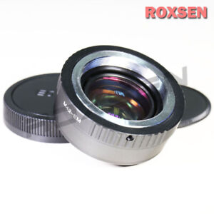 Focal Reducer Speed Booster Adapter M42 screw mount lens to Canon EOS M EF-M M5