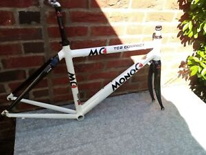 MONOC TC2 COMPACT FRAME AND FORKS INC CARBON SEAT POST SMALL 48CM