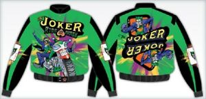 JH DESIGN GREEN JOKER ADULT JACKET - THESE ARE RARE NOW - BRAND NEW - ADULTS