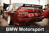 1x 85 cm BMW Motorsport Spoiler Aufkleber Sticker Decal Tuning M3 E30 E36 Wing