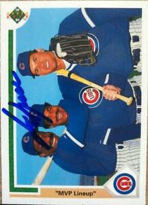 George Bell Autographed 1991 Upper Deck #725
