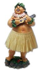 """Hawaiian Dashboard Hula Local Boy 7"""" Doll Playing Ukulele Hawaii Islands NIB"""