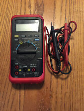"""DIGITAL MULTIMETER WITH LEADS &COVERS /RUBBER GUARD NICE 8""""X4"""""""