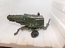 1982 Vintage GI Joe Artillery Gun. T44 Cannon Military Toy** SOLD AS IS * Retro!