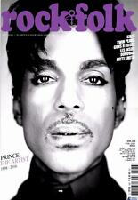 Prince Rock And Folk French Magazine June 2016 Mag France Tribute