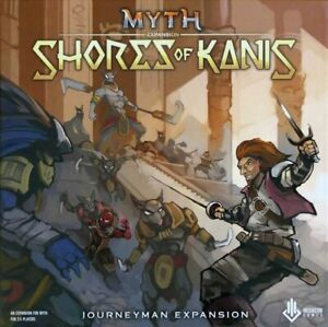 Myth: Shores of Kanis Board Game *NEW* **FAST SHIP** RARE OUT OF PRINT