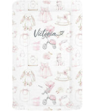 Vintage Design Nursery Baby Changing Mat - Pink Girls  - Can Be Personalised